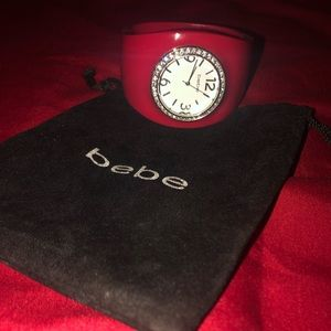 Bebe Watch, Red Bangle